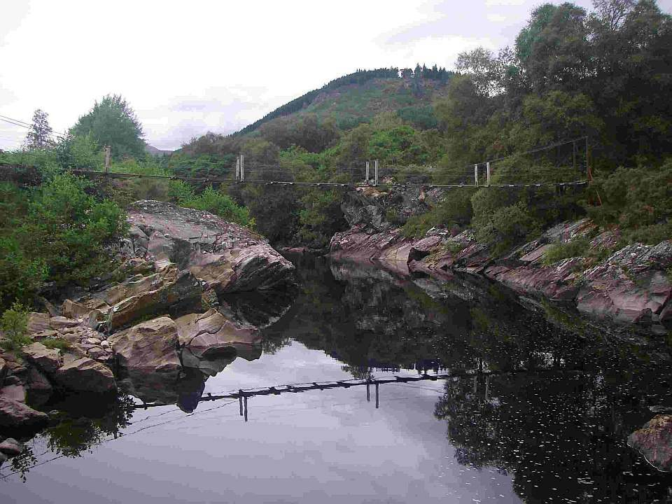 River Meig Bridge, Strathconon