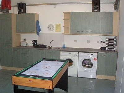 Utility room and work area in Rathad an Drobhair Holiday Cottage Rental Accommodation in Strathconon